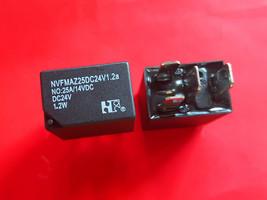 NVFMAZ25DC24V1.2a, DC24V Relay, Nf Brand New!! - $6.44