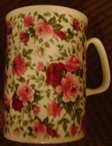 ROSE OF ENGLAND FLOWER Lancaster Fine Bone China Mug 10 OZ. MADE IN ENGL... - $14.90