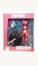 McFarlane Toys - Fortnite Cuddle Team Leader Figure - Black/White/Pink - $14.01