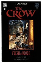 The Crow: Flesh and Blood #1-1996-Kitchen Sink-J. O'Barr comic book - $37.83