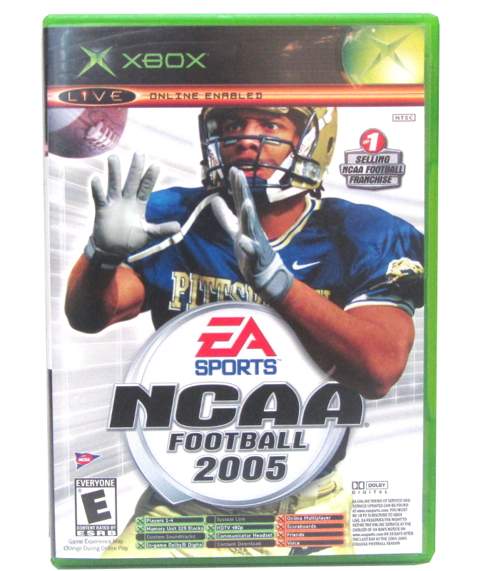 Primary image for Microsoft Game Ncaa football 2005/ topspin