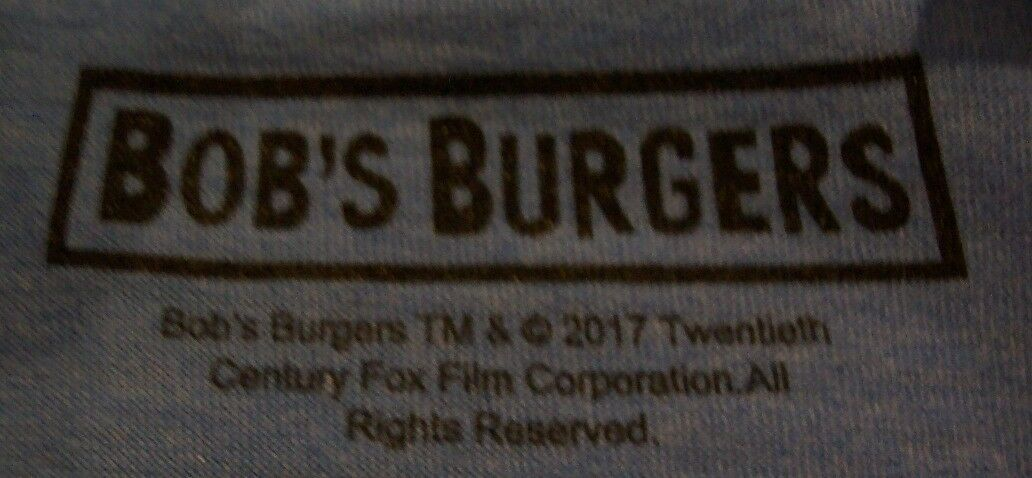 BOB'S BURGERS Father Of The Year T-Shirt MEDIUM NEW w/ TAG