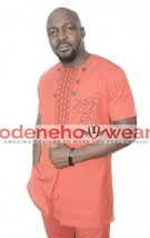 Odeneho Wear Men's Polished Cotton Top And Bottom/Design. African Clothing. - $118.80+
