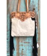 American Darling White & Black Speckled Hair on Hide Clutch/Shoulder Bag - $139.99