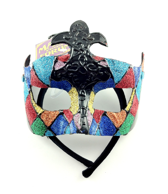 MASQUERADE BALL MASK FETISH HALLOWEEN ROLE-PLAY COLORFUL