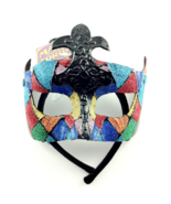 MASQUERADE BALL MASK FETISH PLAY CARNIVAL MARDI GRAS ROLE-PLAY COLORFUL - $38.99
