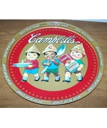 Cambells Soup Company Advertising Tray 13 Inch  - $15.00