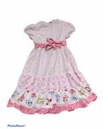 Gymboree Dress White Girls Size 5 Flowers - $15.83