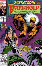 Darkhold #4 Sabretooth vs Darkhold [Comic]  - $9.99