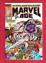 Marvel Age (Volume 1, #27, June 1984) [Comic] by Jim Shooter - $7.99