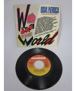 We Are The World USA For Africa 45 RPM record M Jackson - $8.90