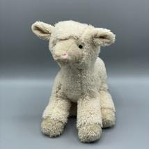 "Wishpets 11"" Lamb Molly Plush Stuffed Animal Soft Eyes Lovey 2008 - $12.86"