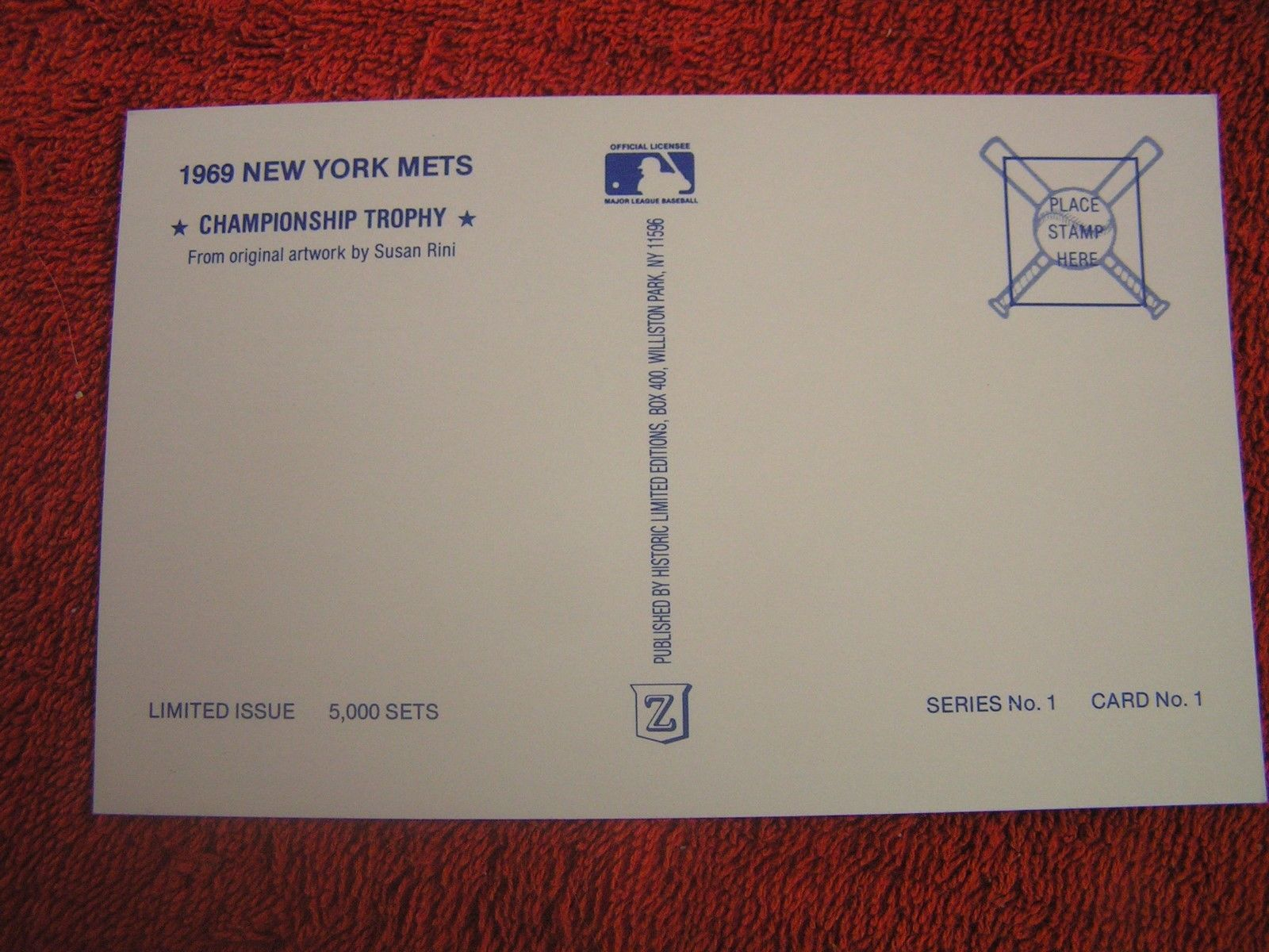 MLB 1969 New York Mets World Champions OR and 31 similar items