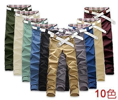 men sports pants men's long trousers skinny pants casual male  fashion