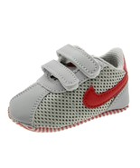 Newborn Gray Sports Walking Shoes Leather Baby Boys Toddler Shoes  N155 - $16.99