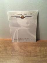 1998 Chrysler Full Line  -  Dealer Sales Brochure - $7.91