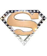 Officially Licensed Golden Superman Belt Buckles - $20.00