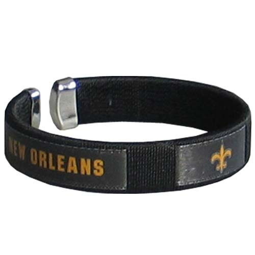Licensed NFL New Orleans Saints Fan Band Wristband