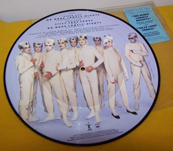 Paul McCartney Picture Disk LP