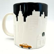 Starbucks Coffee Mug Cup New York City NYC Skyline Taxi 2012 Collector S... - $49.88