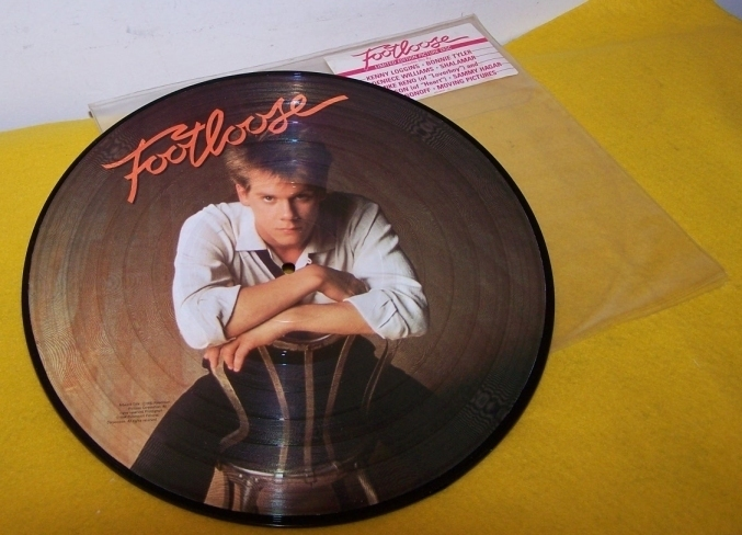 Foot Loose  Picture Disk LP