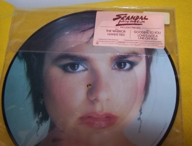 Scandal  Picture Disk LP