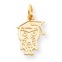 10k Yellow Gold GRADUATION Charm Pendant for Necklace - $64.82