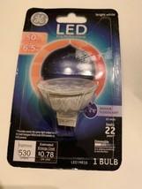 G E Lighting 93095551 LED Flood Light Bulb, Bright White, Clear, MR16, 530 - $4.99