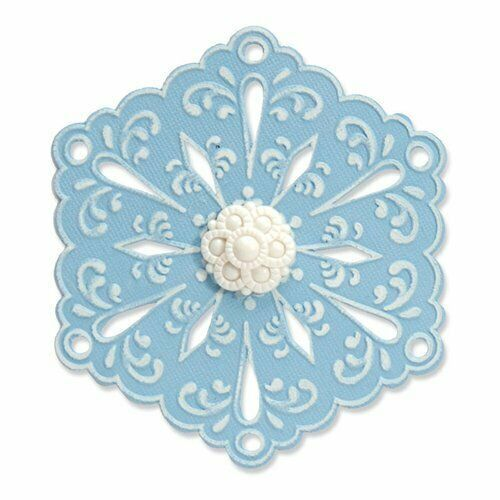 Sizzix Snowflake #4 Die and Matching Embossing Folder #657366