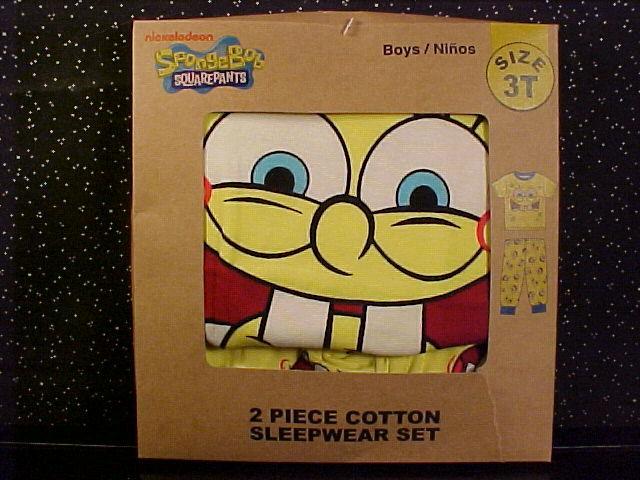 Pajamas spongebob