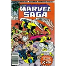 The Marvel Saga: The Official History of the Marvel Universe #21 (Marvel... - $7.99