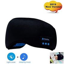 Bluetooth Sleep Eye Mask, 2019 New Version Wireless Headphones Sleeping ... - $18.05