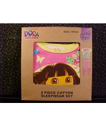 *DORA THE EXPLORER*GIRLS SLEEPWEAR*PAJAMAS*12M*NIP* - $11.99