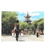 Copenhagen Denmark Boy Youth Guard on Parade Tivoli Gardens Pagoda Postc... - $9.95
