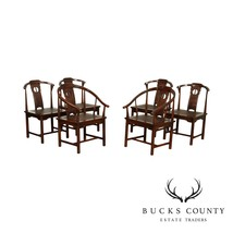 Drexel Heritage Vintage Asian Style Set 6 Dining Chairs - $965.00