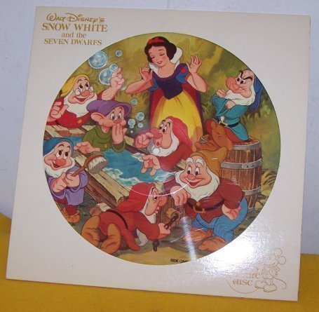 Snow White And The Seven Dwarfs Picture Disk LP