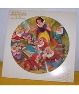 Snow White And The Seven Dwarfs Picture Disk LP - $45.00
