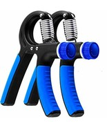 Grip Strength Trainer - 2 Pack Hand Grip Strengthener W/Adjustable Resis... - $56.02