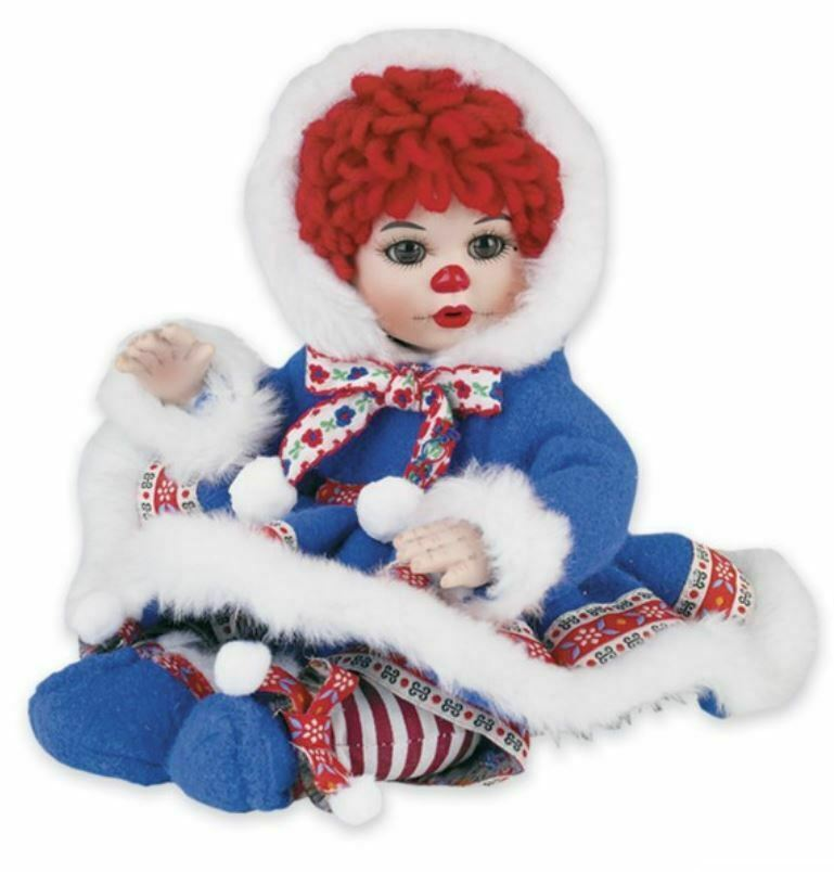"""Marie Osmond Fine Collectibles Doll - 8"""" Eskimo Kissy Tiny Tot Numbered - $34.65"""