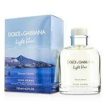 Dolce & Gabbana Light Blue Discover Volcano Cologne 4.2 Oz Eau De Toilette Spray image 4