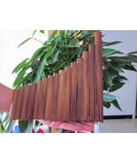 HQ 15 Maple Bamboo Pipes Flutes Woodwind Pan Flute Professional Beginner... - $34.20