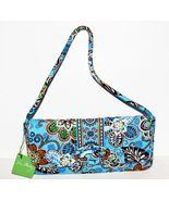 Vera Bradley Clutch Purse Handbag Bali Blue Kno... - $39.99