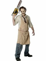 Leatherface Costume - Standard - Chest Size 40-44  - $37.99