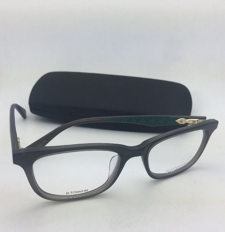 New KIO YAMATO Eyeglasses Brooke KP-189U Col.04 51-18 Smoke Grey ...