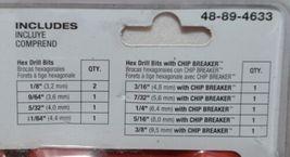 Milwaukee 48894633 Shockwave Titanium Drill Bit Set 10 Pieces image 5