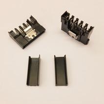 direkt Riegel Typ SATA PC PSU Stromanschluss - Schwarz Kappen - DIY - 2e... - $3.54