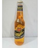 """Vintage 30"""" Miller Genuine Draft Lighted Beer Bottle Wall Display FREE U... - $125.00"""