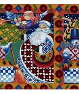 Per Yard, 4 Available, Jim Shore, Santa, Angel, Snowman, Quilt Fabric, P... - $13.97