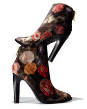 Joie Blayze Floral Velvet Bootie, Floral MSRP: $358.00 Mult Sizes - $247.50+