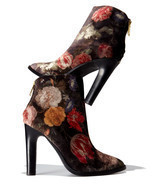 Joie Blayze Floral Velvet Bootie, Floral MSRP: $358.00 Mult Sizes - $328.50 CAD+